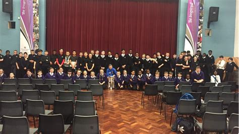 WESTON FAVELL ACADEMY HOSTS COBBLERS TAKEOVER DAY - News