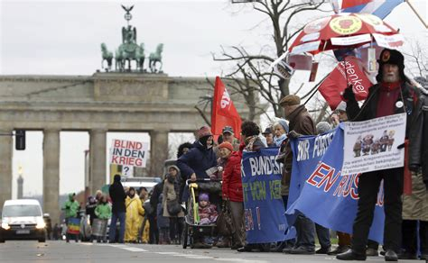 Germany Holds Protest Against US, North Korea Tensions