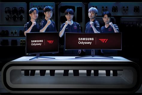 Samsung Is Now T1's Official Display Partner; Odyssey G7
