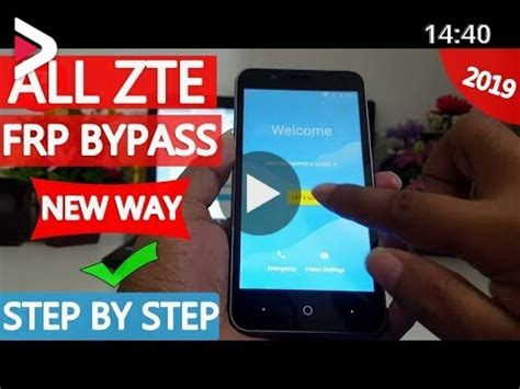 ALL ZTE Google Account Bypass 2019   Without Pc   New Way