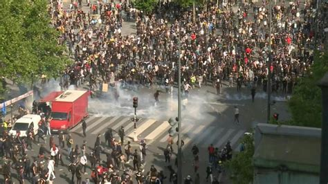 Man Shot As Protesters Try To Topple Controversial