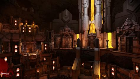 Dragon Age's Orzammar, the city of the Dwarves - Gaming Nexus
