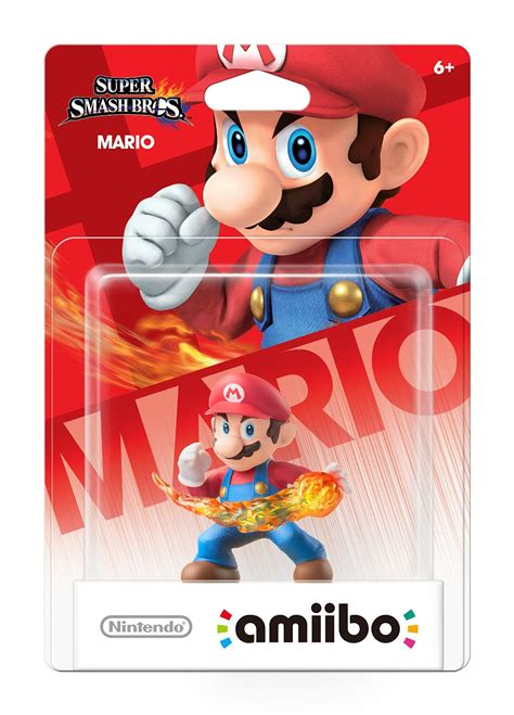 Nintendo's first round of amiibo figures available for