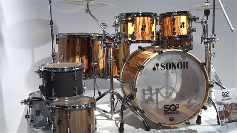 Musikmesse 2017 SONOR Drums SQ2 Series News (english