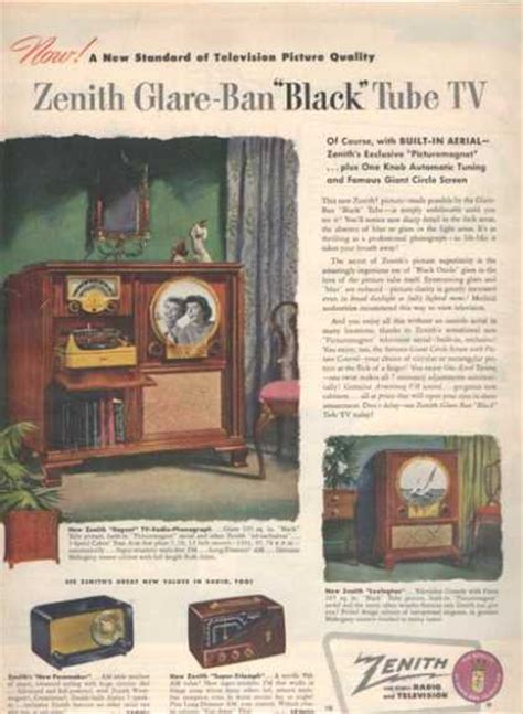 Vintage Electronics/ TV of Miscellaneous Years