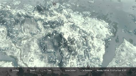Skyrim Mods Daily - Quality World Map - With Roads