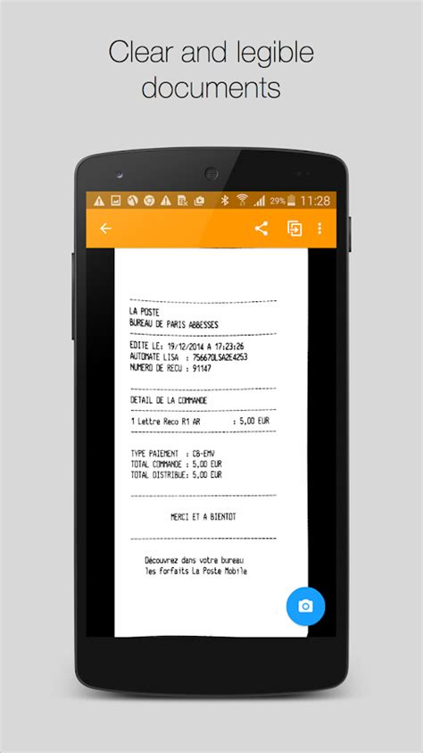 Genius Scan+ - PDF Scanner - Android Apps on Google Play