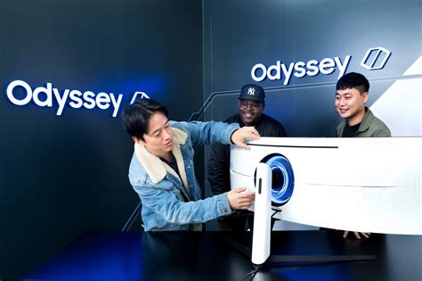 Designing the Gaming Monitors of the Future: the Odyssey
