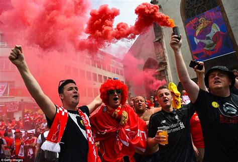 Liverpool fans gather in Switzerland ahead of Europa