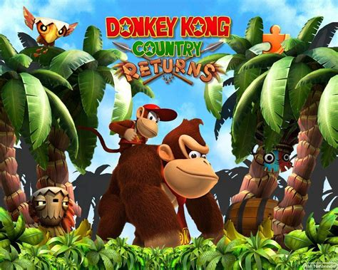 Donkey Kong Country Wallpapers - Wallpaper Cave