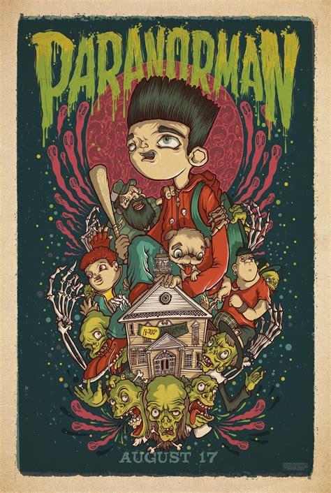 """""""ParaNorman"""" Posters"""