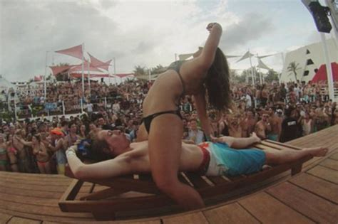 The new Magaluf: Boozed up Brits party hard in Cancun