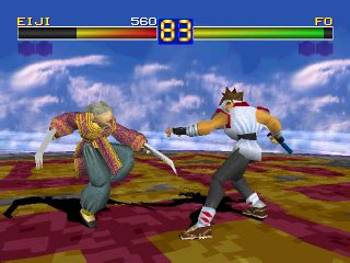 Play Battle Arena Toshinden Sony PlayStation online   Play