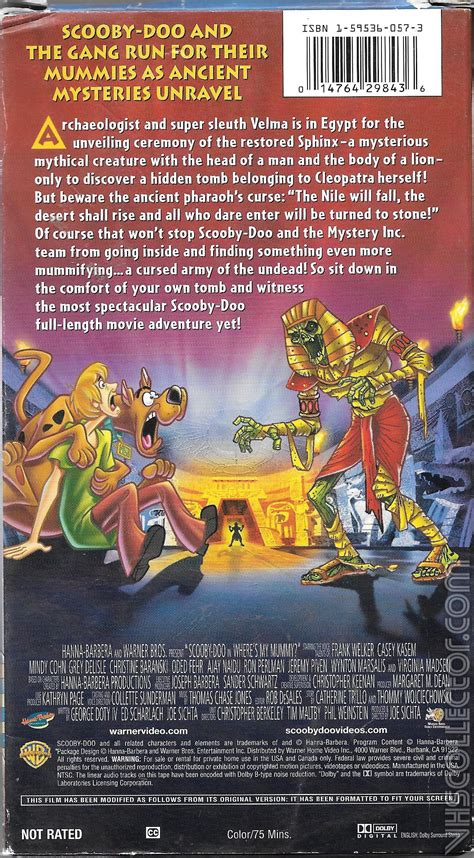 Scooby-Doo! in Where's My Mummy?   VHSCollector