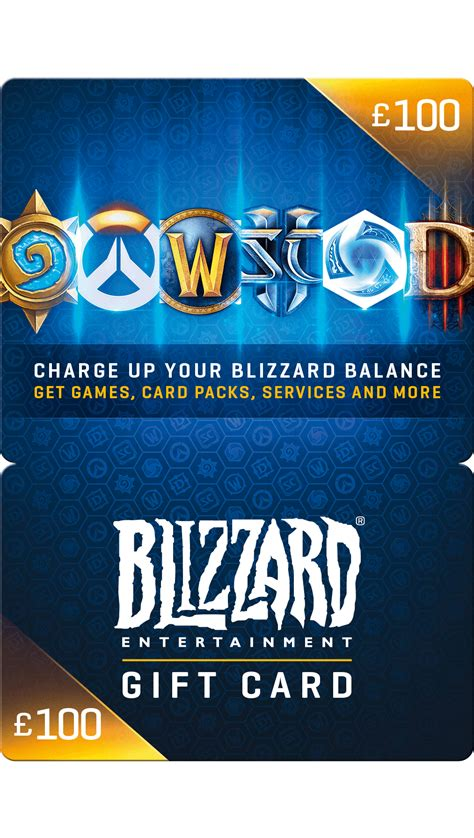 Blizzard Gift Card £ 100 - Game – Startselect